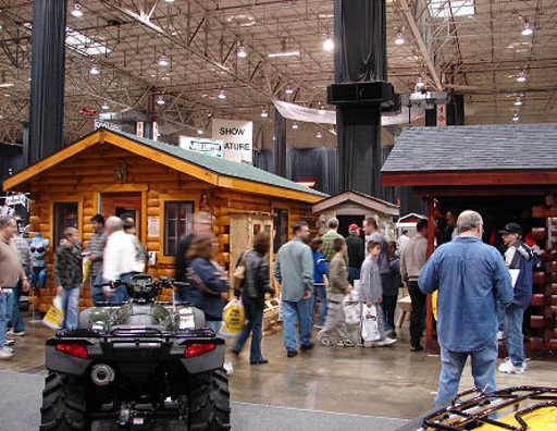 In 2007, Timeless Timbers Decided To Expand Our Reach By Taking A Couple Of  Our Cabins To The Cleveland Home And Garden Show. We Were Told We Were  Going To ...